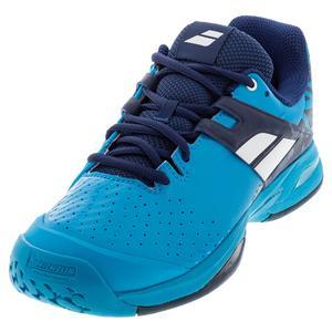 Juniors` Propulse All Court Tennis Shoes Drive Blue