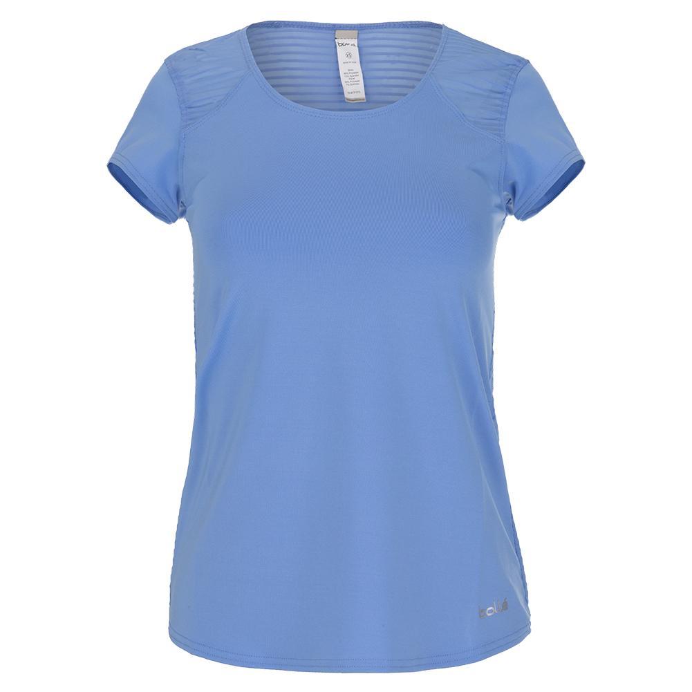 Women's Serenity Cap Sleeve Tennis Top Periwinkle