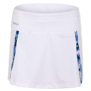 Women`s Serenity Tennis Skort White