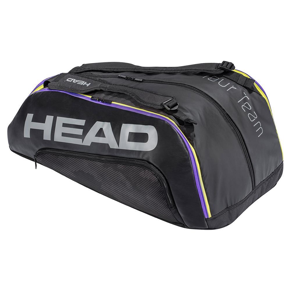 Tour Team 12r Monstercombi Tennis Bag Black And Mixed