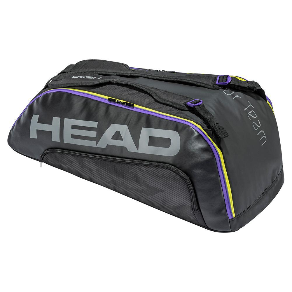 Tour Team 9r Super Combi Tennis Bag Black And Mixed