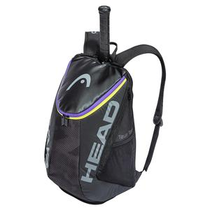 Tour Team Tennis Backpack Black and Mixed