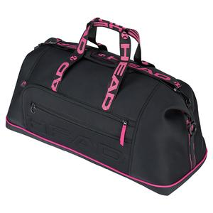 Coco Tennis Duffle Bag Black and Pink