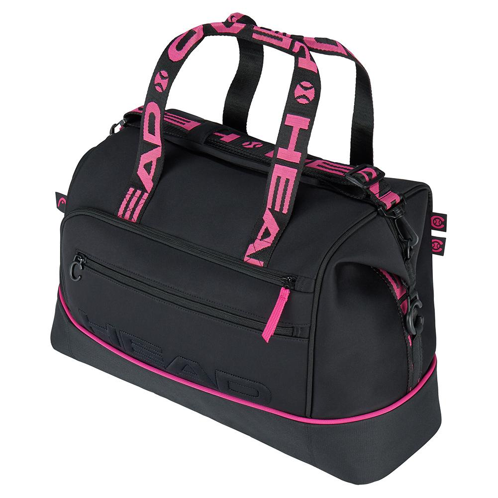 Coco Tennis Court Bag Black And Pink