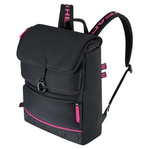 Coco Tennis Backpack Black and Pink