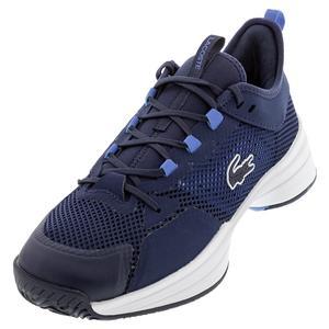 Men`s AG-LT 21 Vitesse Tennis Shoes Navy and Blue