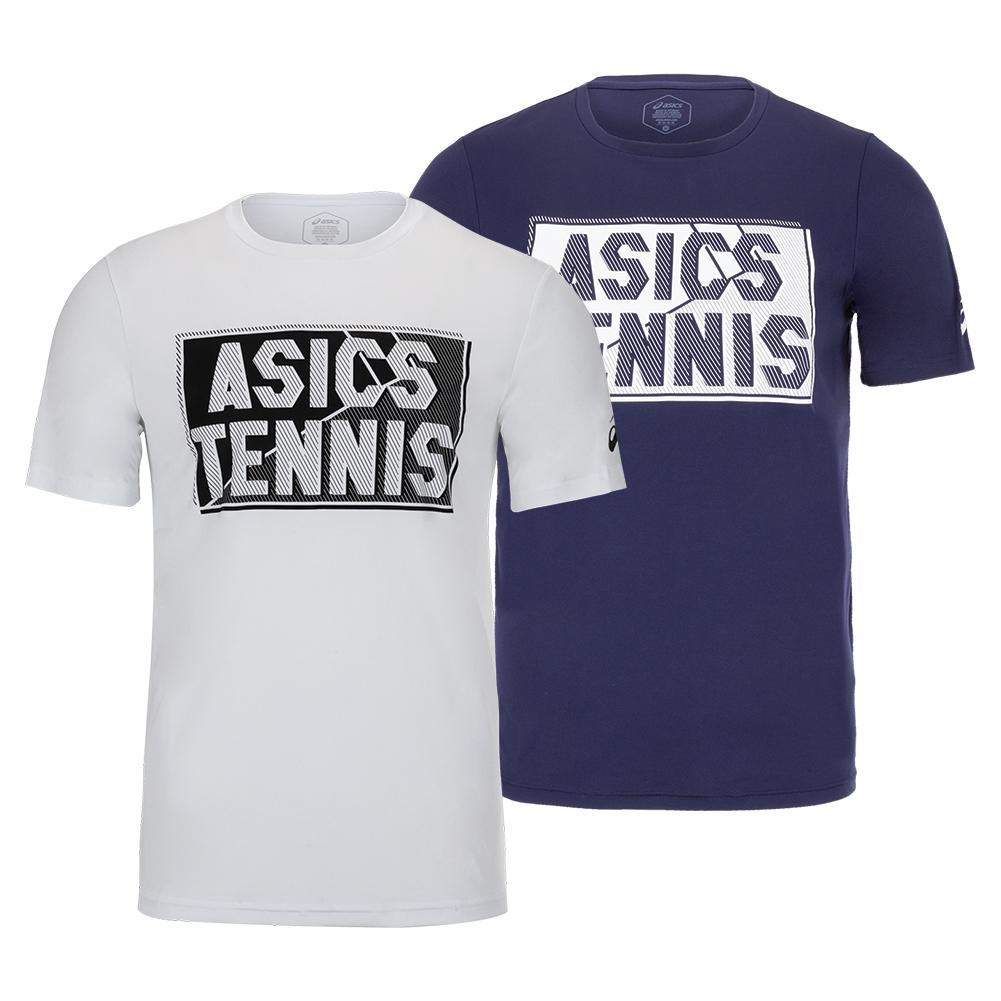 Men's Court Graphic Tennis Tee