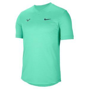 Men`s Rafa Court Challenger Short-Sleeve Tennis Top