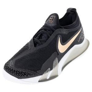 Men`s React Vapor NXT Tennis Shoes Black and White
