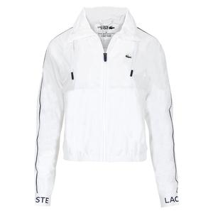 Women`s Blouson Tennis Jacket White