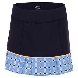 Women`s Pearl Tennis Skort Blue Bird