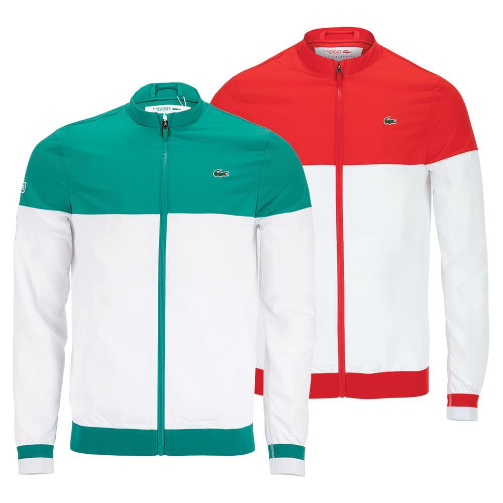 Men ' S Sport X Novak Djokovic Colorblock Zip Jacket