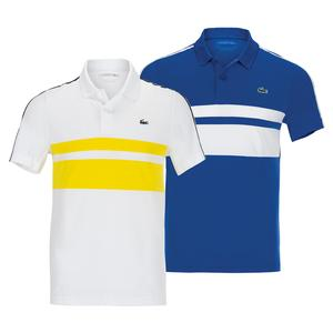 Men's SPORT Breathable Resistant Piqué Tennis Polo Shirt