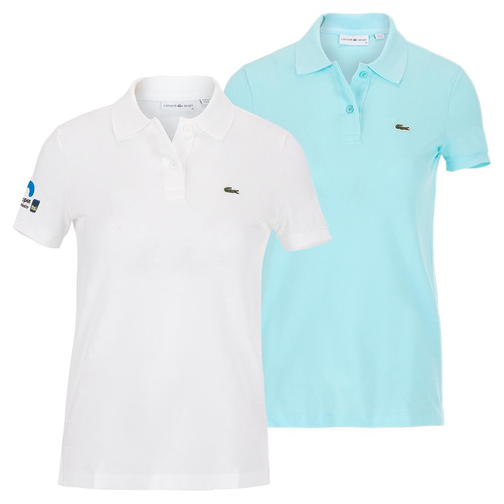Women's Miami Open 2021 Short Sleeve Solid Tennis Polo