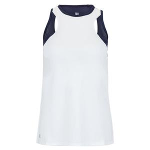 Women`s Khloe Tennis Tank Chalk