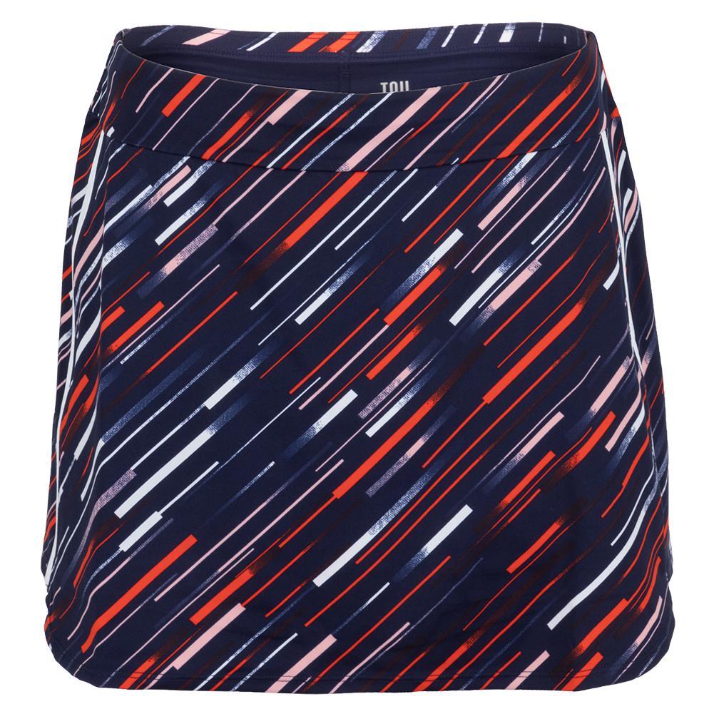 Women's Alona 13.5 Inch Tennis Skort Cascade Stripe