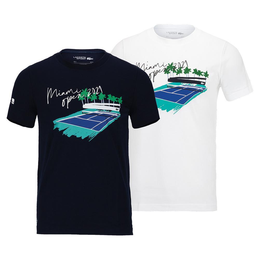 Men's Miami Open 2021 Tennis Tee- Shirt