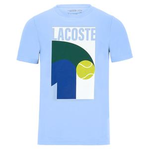 Men`s Core Performance Tennis Tee-Shirt Nattier Blue