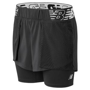 Women`s Relentless 2-in-1 Performance Short