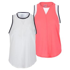 Women`s Wavy Chill Out Tennis Tank