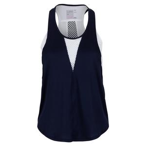 Women`s Play All Day Layer Tennis Tank Midnight