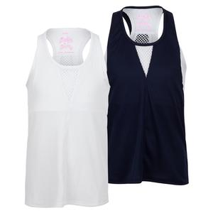 Girls` Play All Day Layer Tennis Tank
