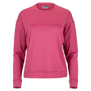 Women`s Cocoon Long Sleeve Tennis Top Mulberry