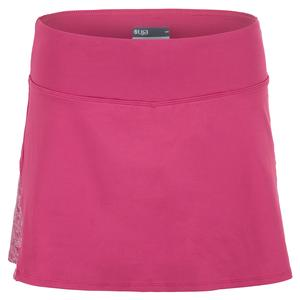 Women`s Drill Tennis Skort Mulberry