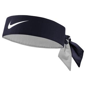 Premier Tennis Head Tie Obsidian and White