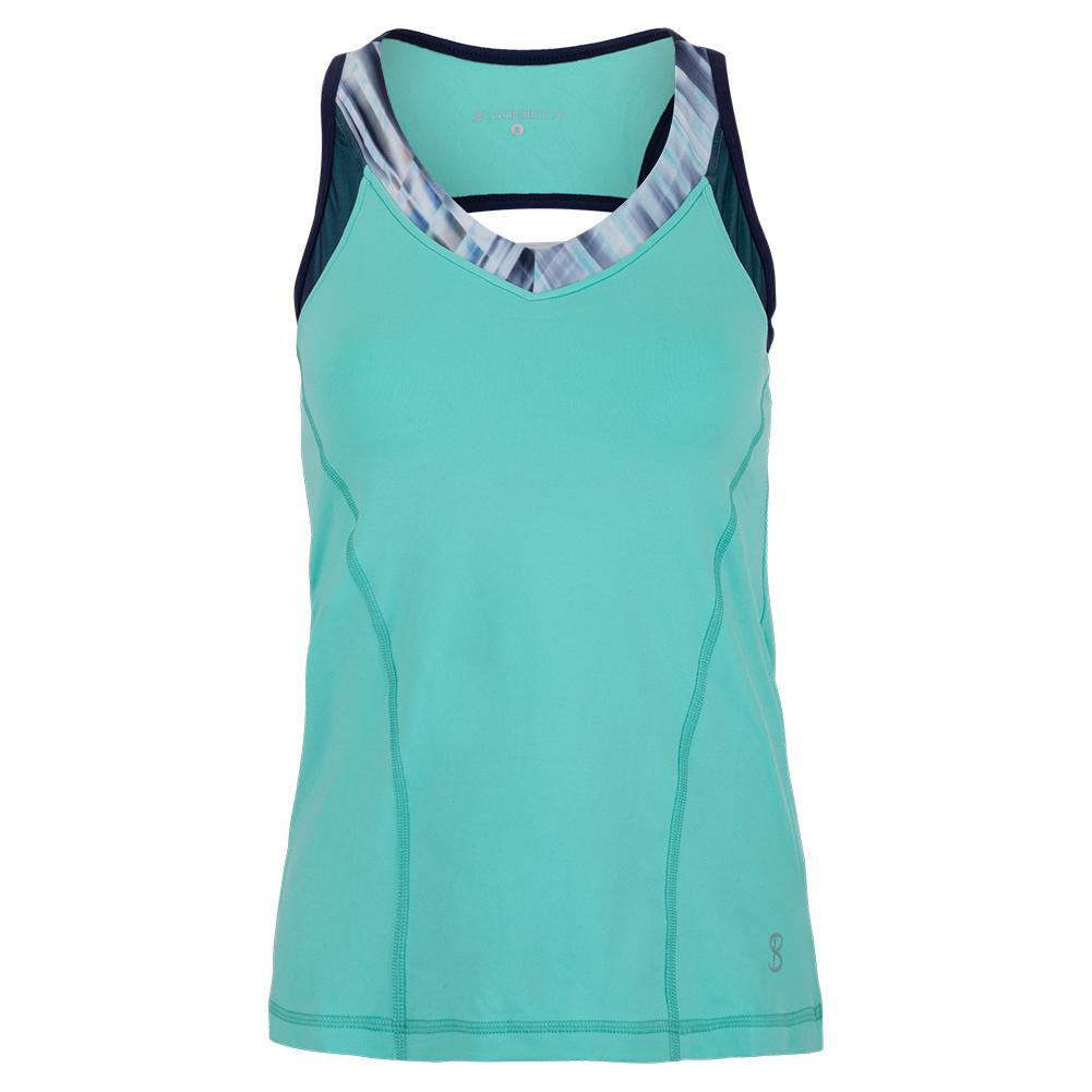 Women's Tennis Cami Mint