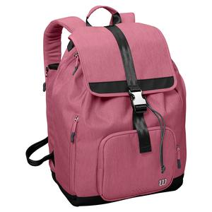 Women`s Fold Over Tennis Backpack Wine