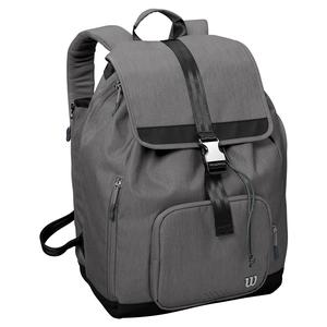 Women`s Fold Over Tennis Backpack Gray