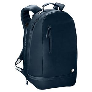 Women`s Minimalist Tennis Backpack Navy