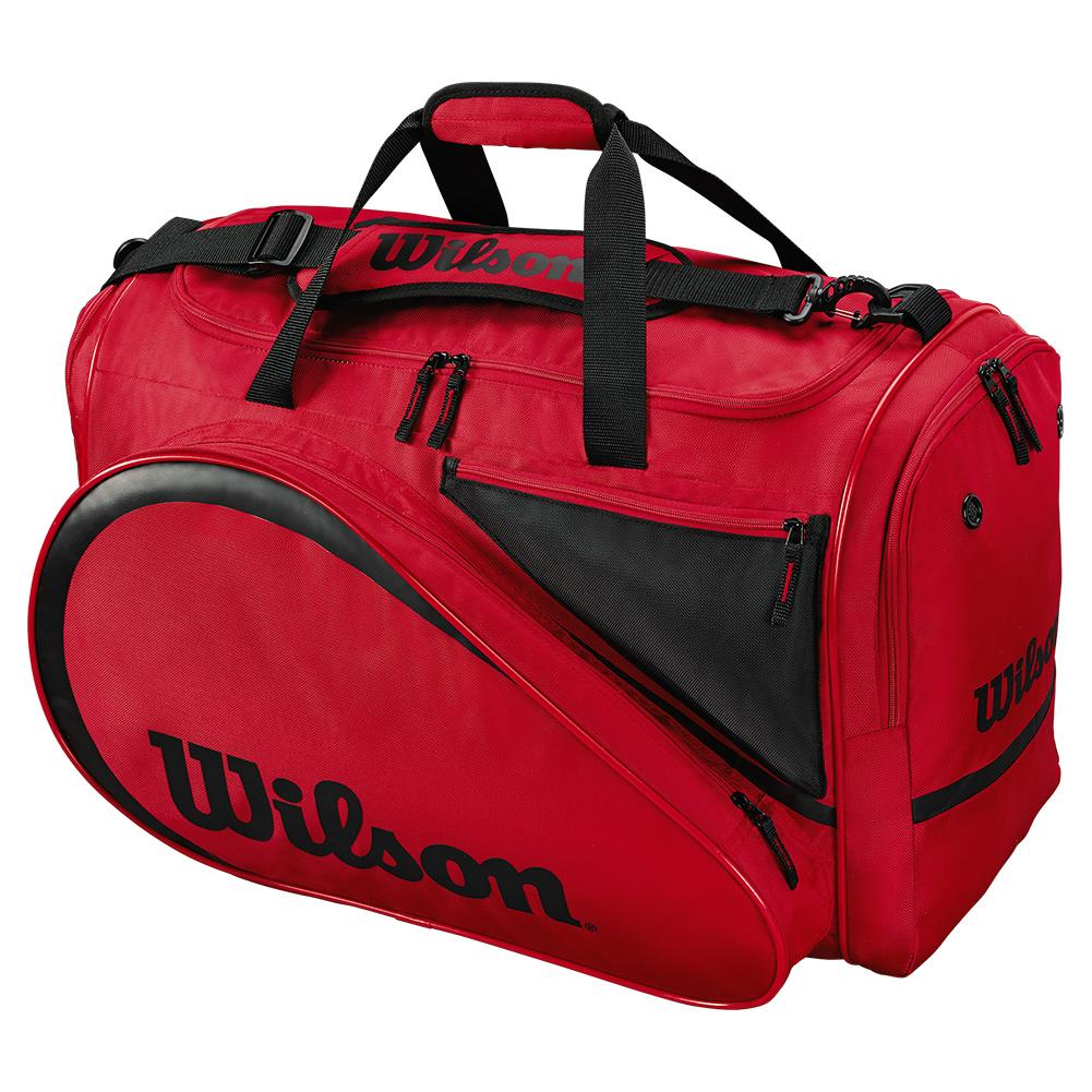 All Gear Tennis Bag Red And Black