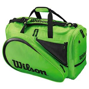 All Gear Tennis Bag Green and Black