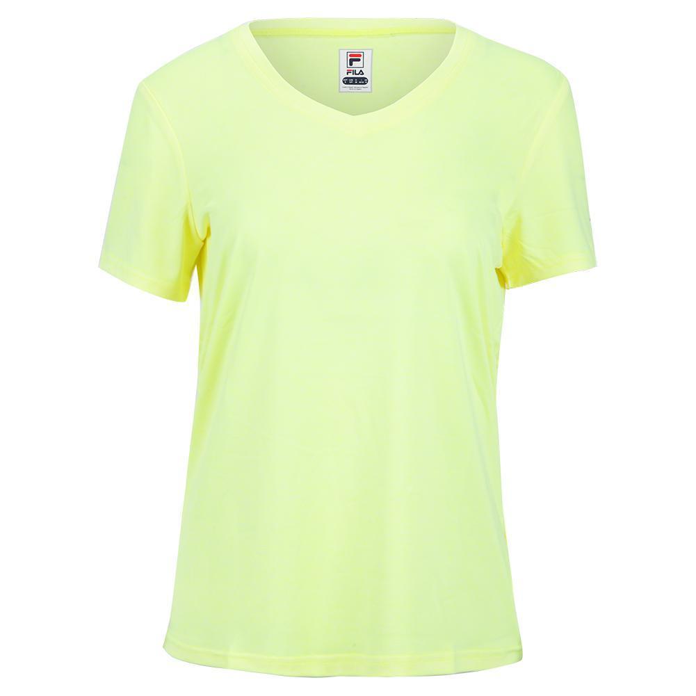 Women's V- Neck Short Sleeve Pickleball T- Shirt