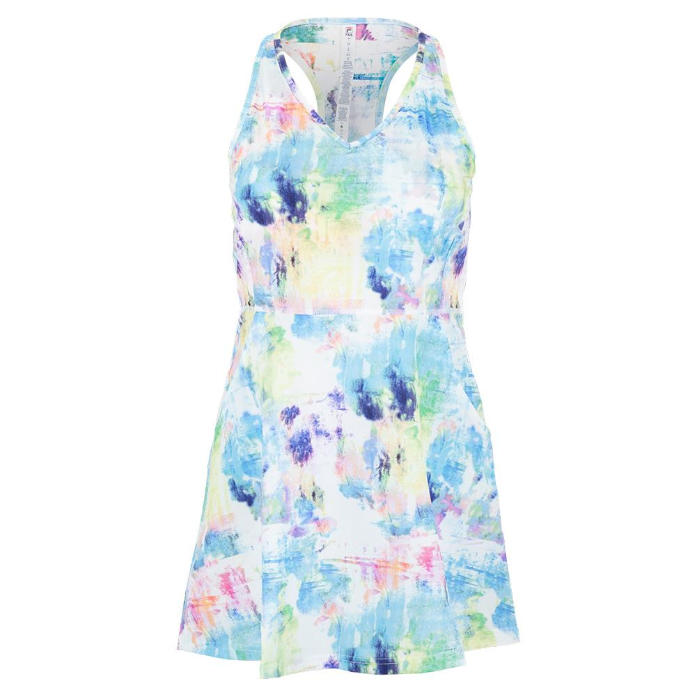 Women's Tie Breaker Tennis Dress Tie Dye
