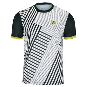 Men`s Melbourne Short Sleeve Tennis Top