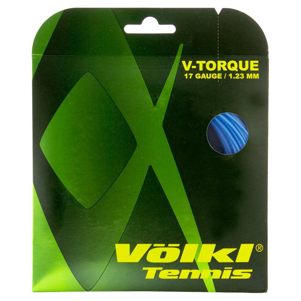 V- Torque Tour Tennis String Dark Blue