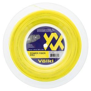 Power Fiber Pro 15L Tennis String Reel Neon Yellow