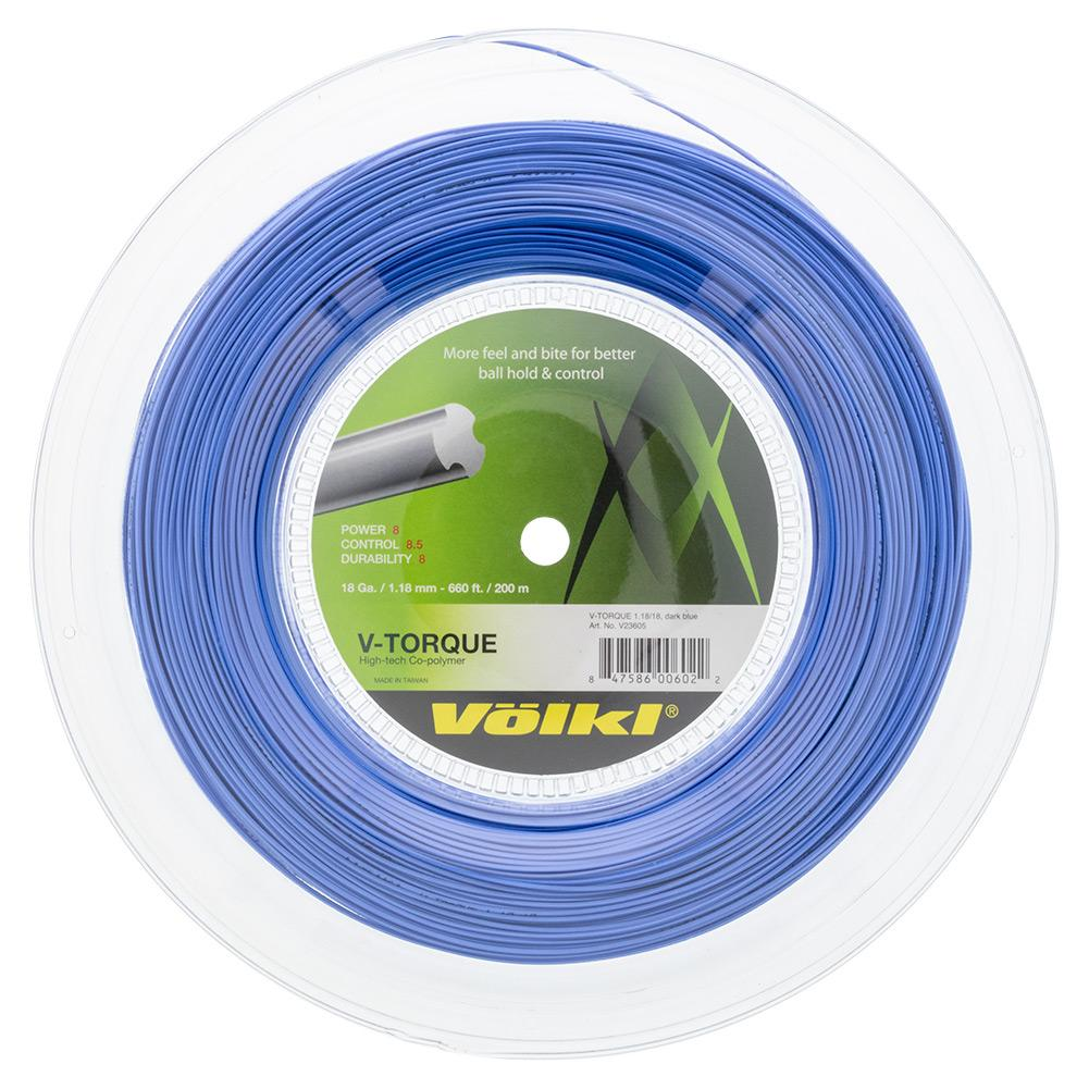 V- Torque Tour Tennis String Reel Dark Blue