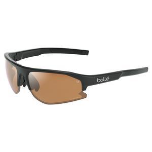 Bolt 2.0 Tennis Sunglasses Black Matte and Phantom Brown Gun Photochromic