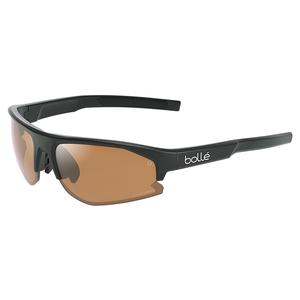 Bolt S 2.0 Tennis Sunglasses Black Matte and Phantom Brown Gun
