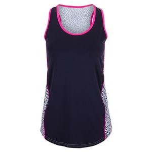 Women`s Fleet Racerback Tennis Tank Crocodile Print