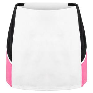 Women`s Deandrea 14.5 Inch Tennis Skort Chalk and Sakura