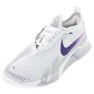 Women`s Court React Vapor NXT Tennis Shoes Photon Dust and Court Purple