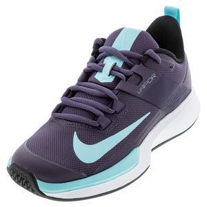 Women`s Vapor Lite Tennis Shoes Dark Raisin and Copa