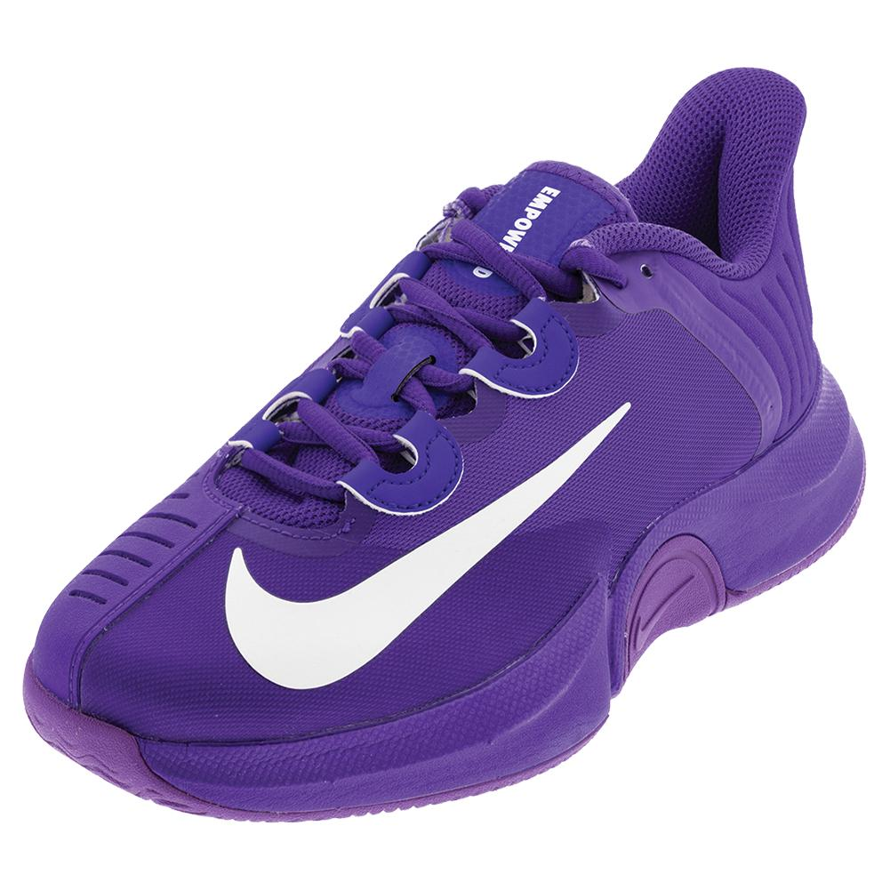 Women's Naomi Osaka Air Zoom Gp Turbo Tennis Shoes Fierce Purple And White