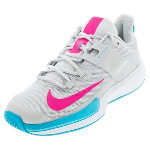 Men`s Vapor Lite Tennis Shoes Photon Dust and Hyper Pink
