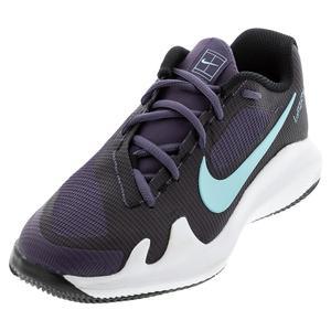 Juniors` Vapor Pro Tennis Shoes Dark Raisin and Copa